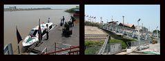 Anlegestelle für Phnom Penh