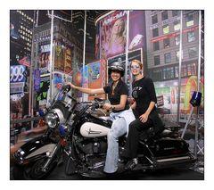 Anna und ich in NY