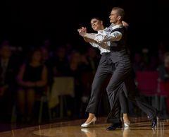 Anna Zudilina&Fedor Isaev beim Standardtanz (Quick Step)