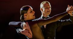 Anna Zudilina&Fedor Isaev beim Standardtanz (Tango)