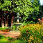 Annapolis No. 22 - Victorian Fountain in Government House Garden