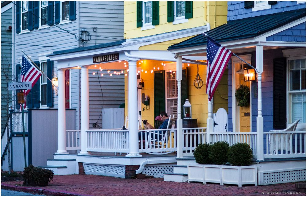 Annapolis No.27 - Best Friends in Blue Hour