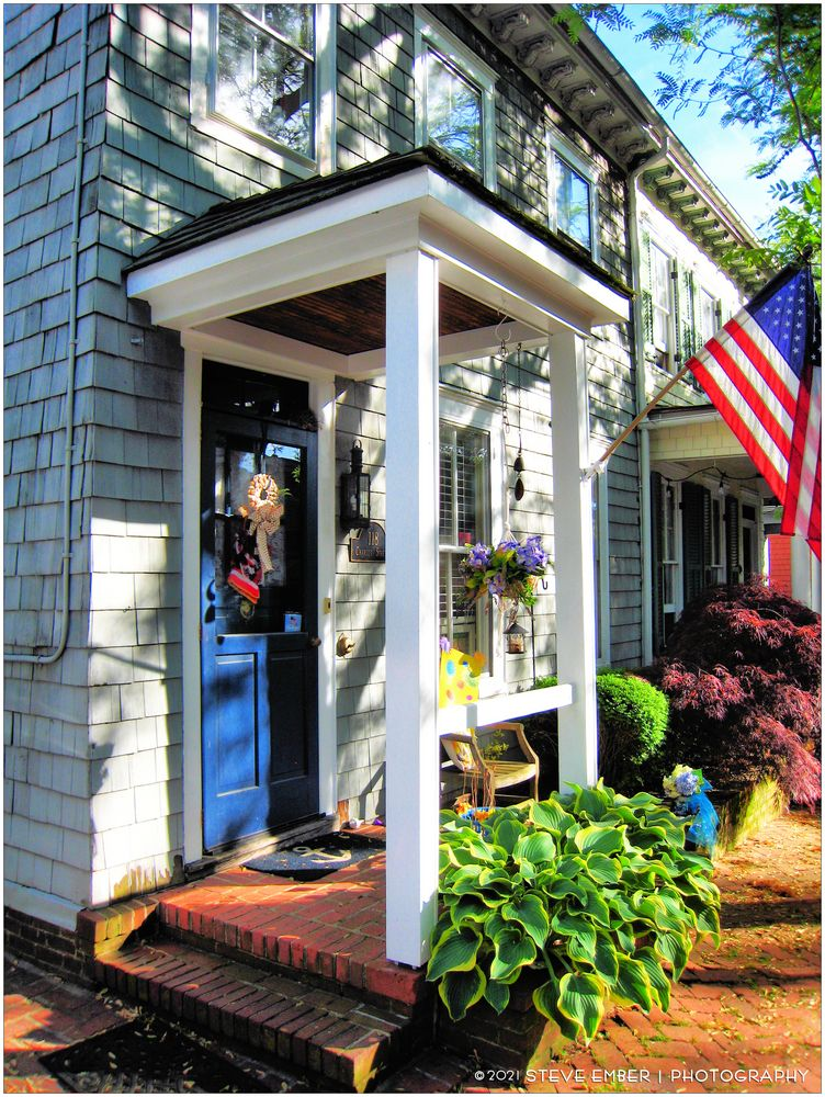 Annapolis Spring No.3 - Homes in the Historic District