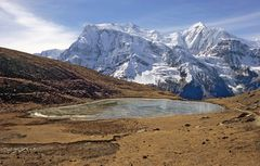 Annapurna III vom Ice Lake
