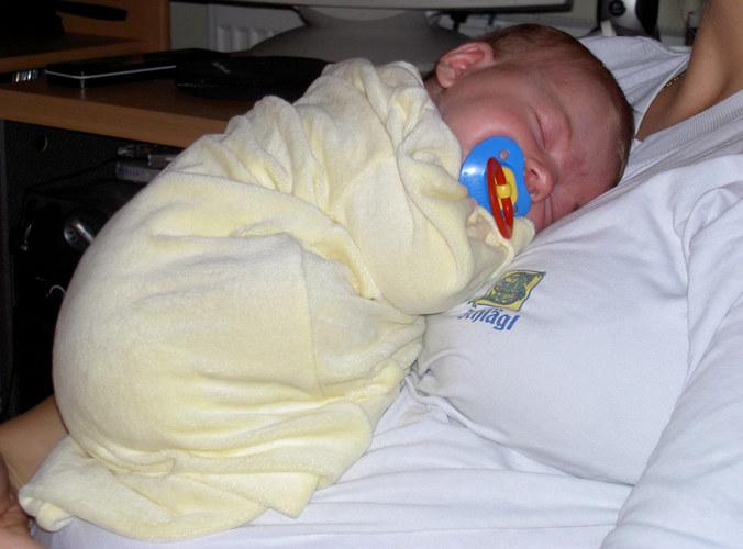 Anne Geddes-Baby ohne Flügerl ;-)