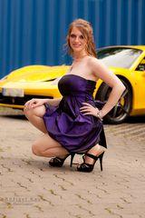 Anne liebt Ferrari....