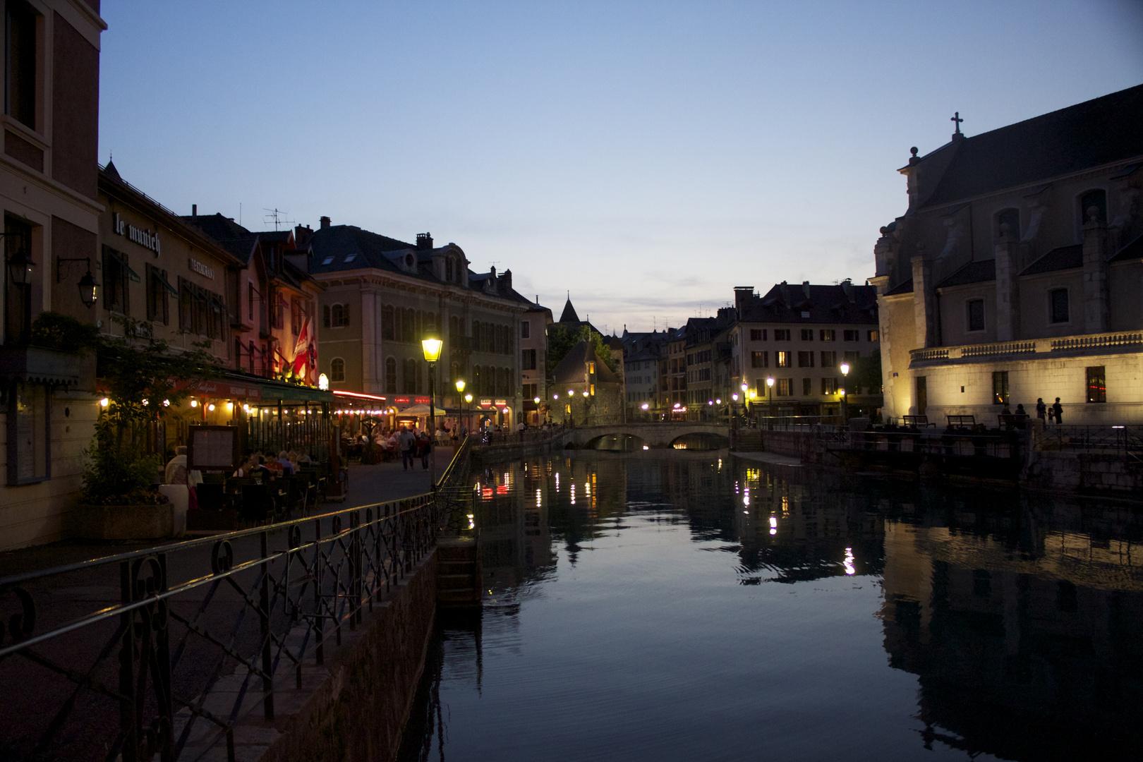 Annecy Le vieux Le canal