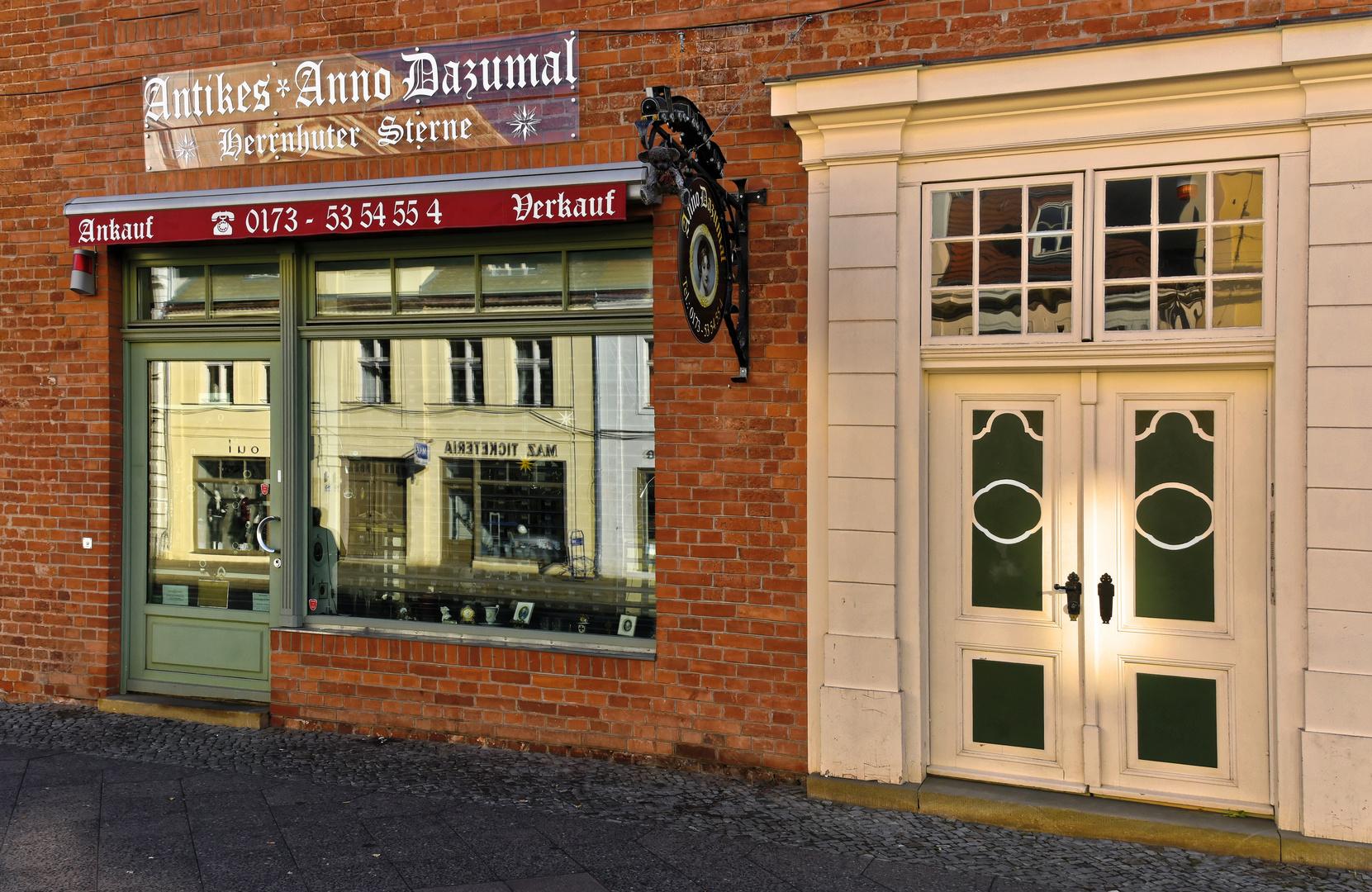 Anno Dazumal  - Potsdam - Dienstag ist Spiegeltag