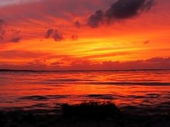 Another Breeding of New Colors in a Saipan Sunset