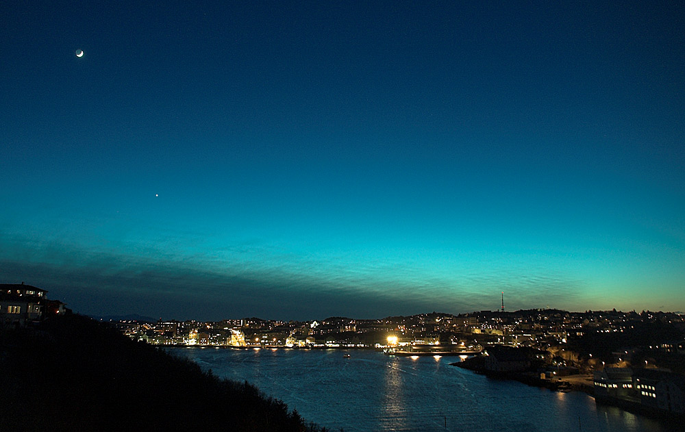 Another cold night in Kristiansund