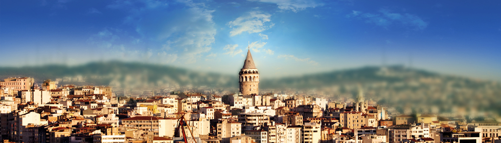 another view of galata tower