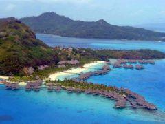 Anreise Bora Bora - hier Zwischenstation Huahine