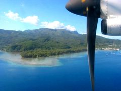Anreise Bora Bora mit Zwischenlandung auf Huahine