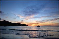 Anse Lazio Sunset
