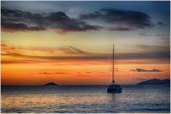 Anse Lazio Sunset ..