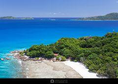 Anse Severe Aerial View (La Digue)