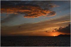 Anse Source d'Argent sunset