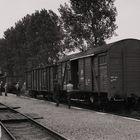 Ansetzen der Güterwagen an den Zug