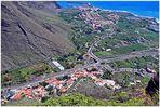 Ansicht des unteren Valle Gran Rey 2007