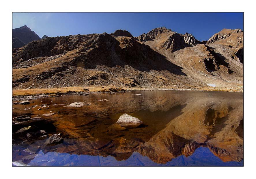 Ansicht eines Sees 2