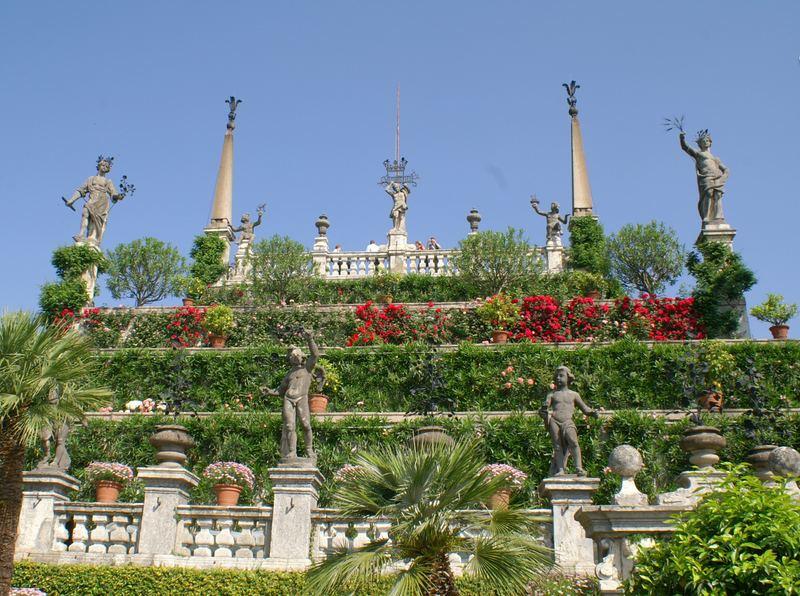 Ansicht Isola Bella Garten