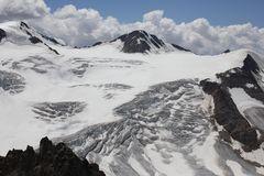 Ansicht vom Gletscher