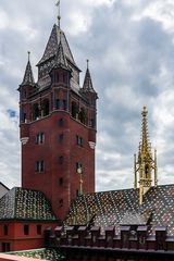 Ansichten des Basler Rathauses 01