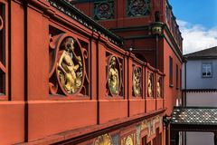Ansichten des Basler Rathauses 02