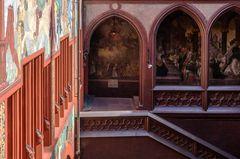 Ansichten des Basler Rathauses 04