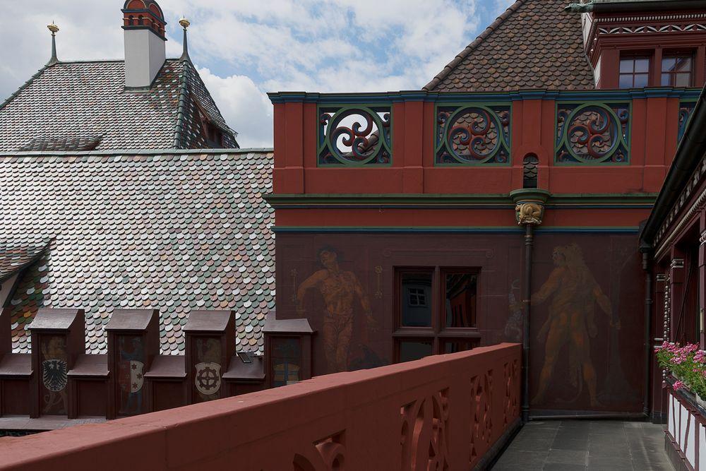 Ansichten des Basler Rathauses