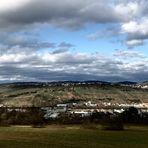 Ansichten einer schwäbischen Landschaft im März