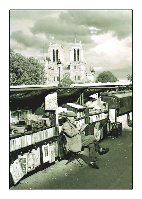 Ansichtskarte aus Paris