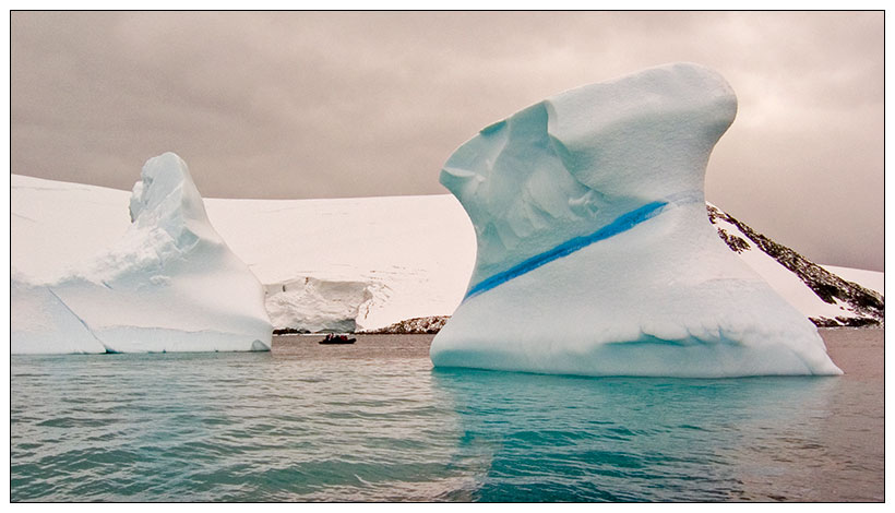 Antarktis 08: Eisberge
