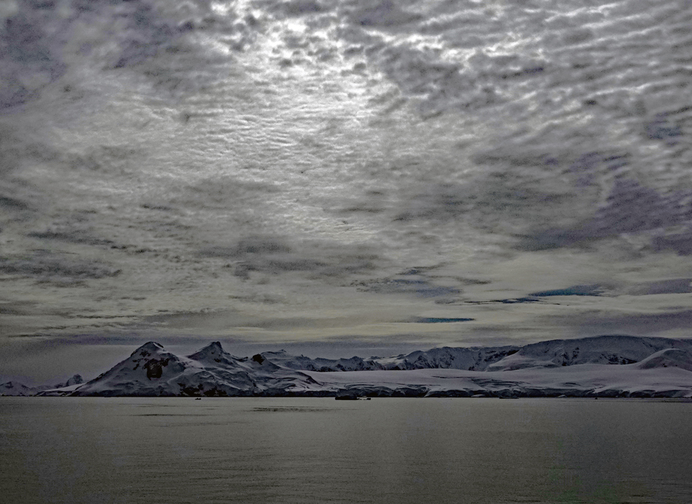 Antarktische Landschaft