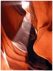 Antelope Canyon im Gebiet der Navajo-Indianer in Arizona I