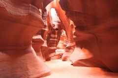 Antelope Canyon unter Sonne