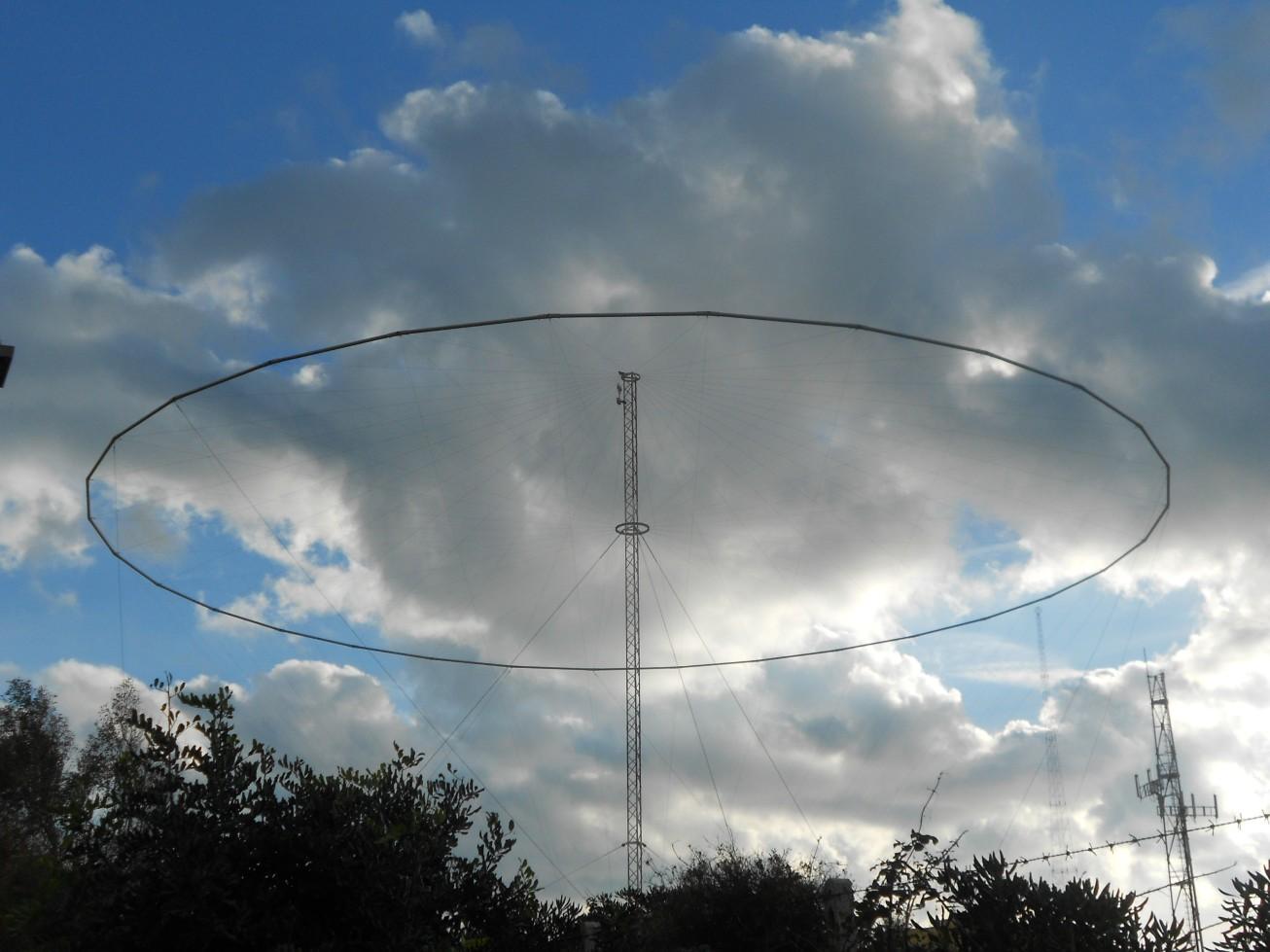 Antenna nel cielo - Capo Linaro RM