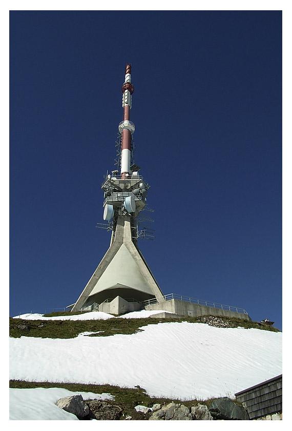 Antenne auf Kitzbühler Horn