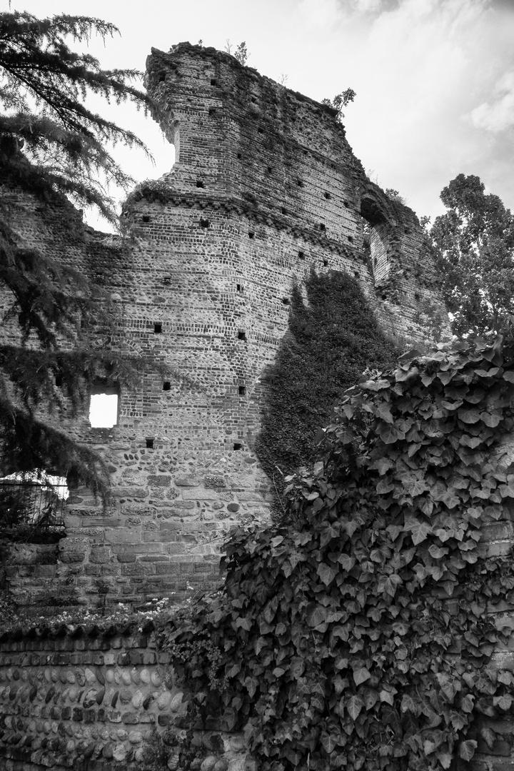 Antiche mura del castello