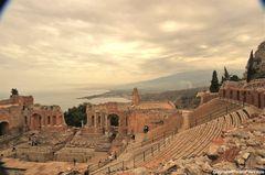 Antico teatro greco-romano di Taormina