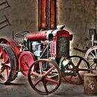 Antico trattore