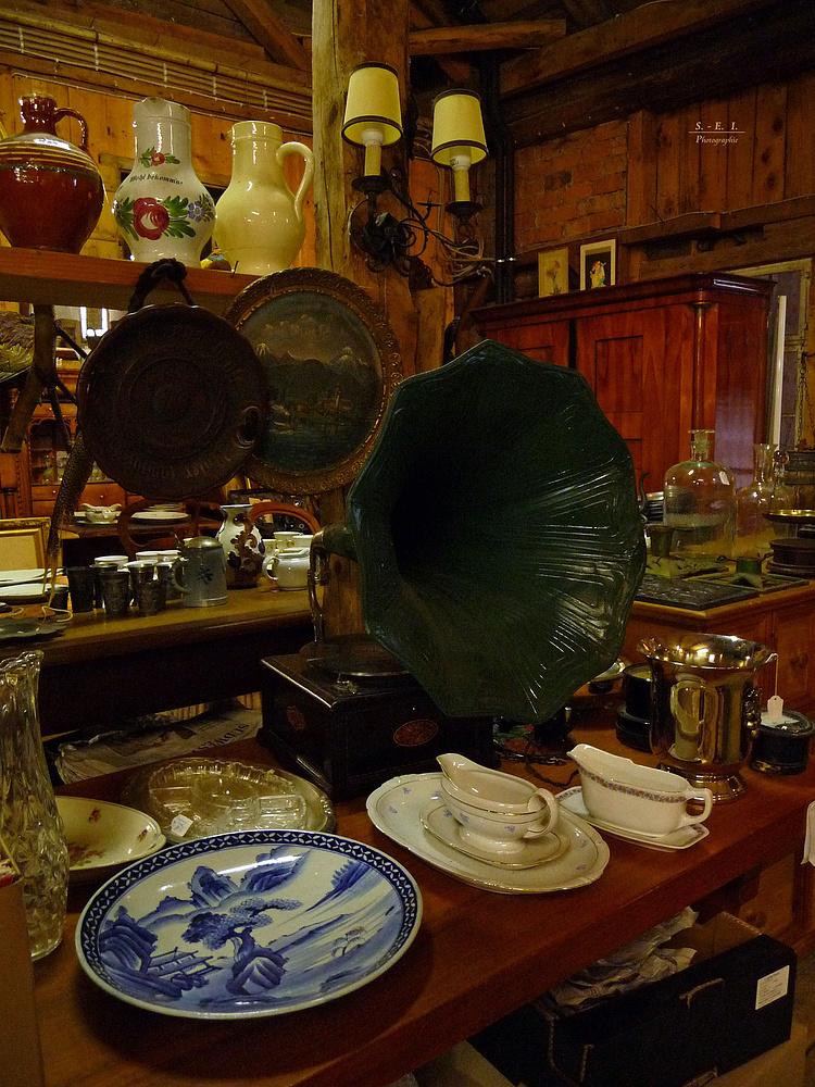"""""""Antik - Museum in der Scheuer der berühmten Oberen Mühle in Bad Oberdorf Oberallgäu 4"""""""