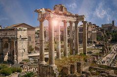 Antike Roma  Forum Romanum