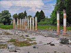 Antike Säulen in Aquilea