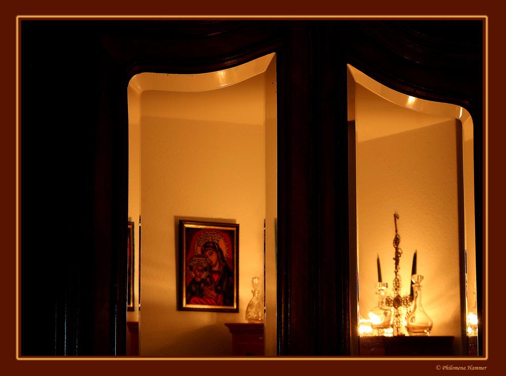 Antike Spiegelung