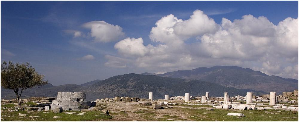 Antike Stätte - Pergamon