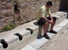 Antike Toilette