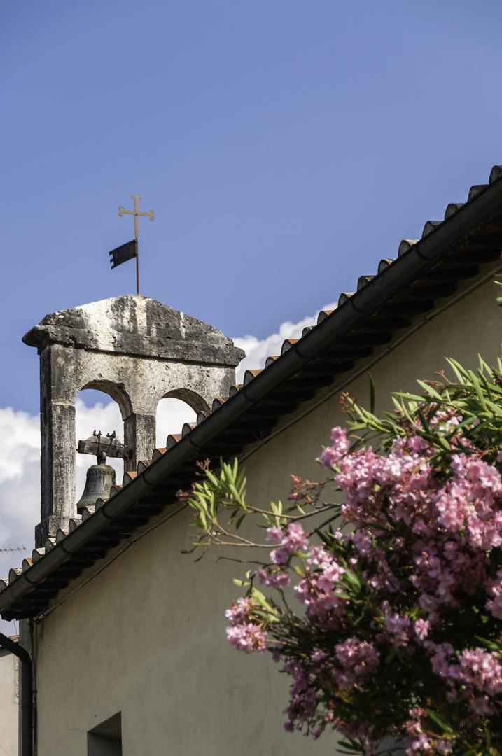 Antiker Glockenturm