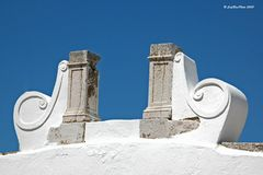 Antikes Kunstwerk bei Lagos Algarve