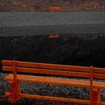 antipodal bench